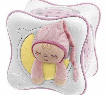 Jucarie Chicco Cub Curcubeu Primele Vise Pink 0luni+