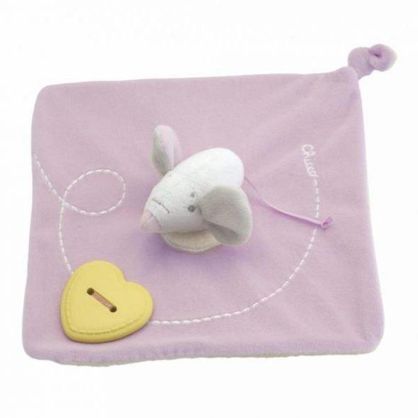 Jucarie Chicco Paturica bebe Culori dulci pink